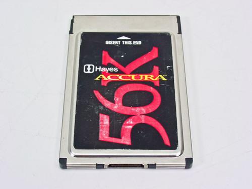Hayes 56840S  56K PCMCIA Card Accura Modem