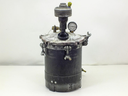 Paint Pressure  Tank 2.5 Gallon with GAST Lubricated Air Motor