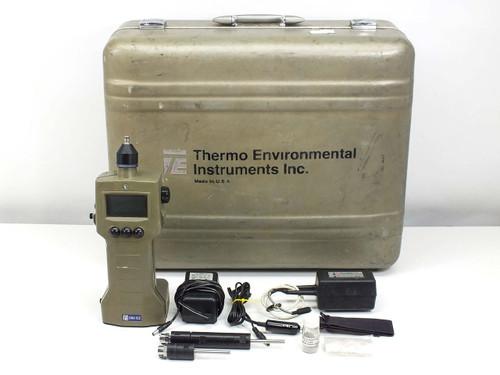 Thermo Environmental 580 EZ  Organic Vapor Meter Data Logger with Case