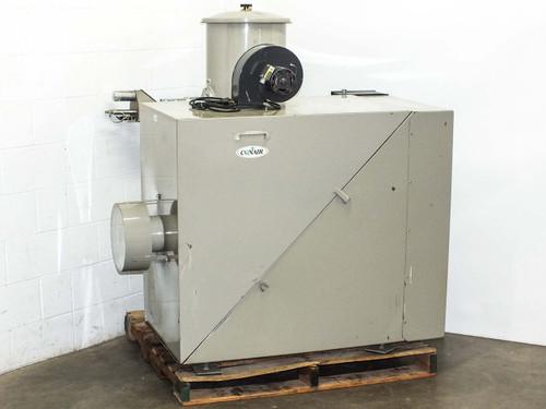 Conair PD7.5  Roots 45 RAI Positive Displacement Vacuum Pump DC1 Dust Collector Encl