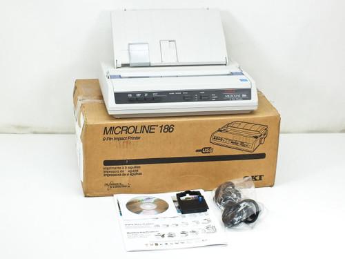 Okidata D22300A  Microline 186 ML186 Dot Matrix Printer Serial Interface