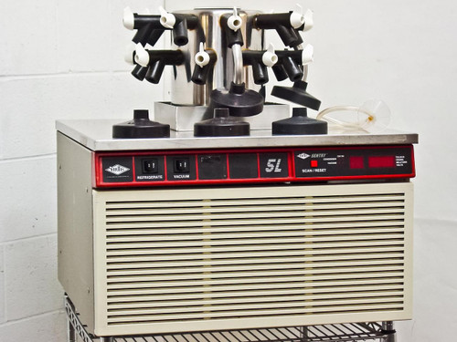 VirTis 5L  Sentry Benchtop Lyophilizer with Condenser, Manifold and Vacuum Pump