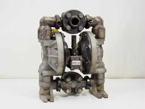 "Ingersoll-Rand 6661A3-34B-C  ARO 1"" Nonmetallic Air-Operated Double Diaphragm Pump"