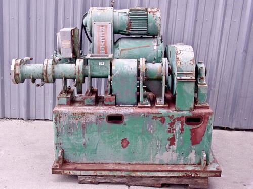 Bonnot  2 1/4  7.5 HP Non Deairing Pug Mill Extruder