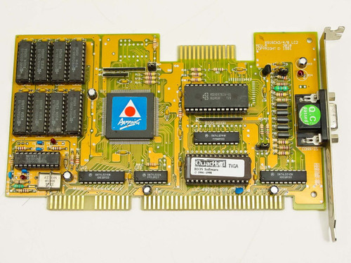 Trident 8916CX2/4/8 LC2 Rev A  ISA Video Card with Feature Connector
