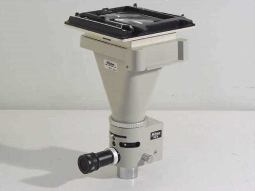 Nikon PFX  Photomicrographic Microscope Shutter Assembly w/4x