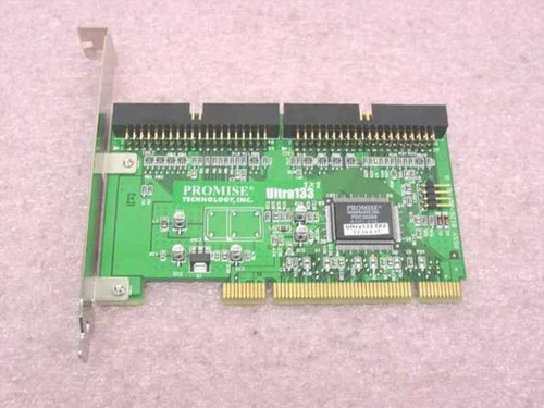 Promise Tech Ultra133Tx2  IDE Hard Drive PCI Controller Card