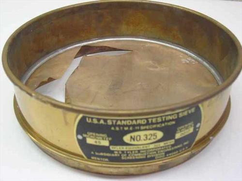 WS Tyler, Inc No. 325  USA Standard Testing Sieve - Bad Mesh Screen
