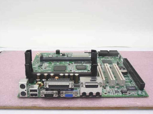 HP D7600-60001  Slot 1 System Board from Brio BAx D7603T Computer