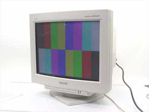 """Sony GDM-20SE2T  20"""" Multiscan 20se II Monitor"""