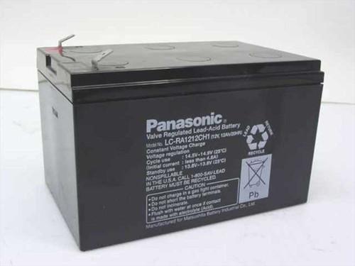 Panasonic LC-RA1212CH1  12V, 12Ah Battery