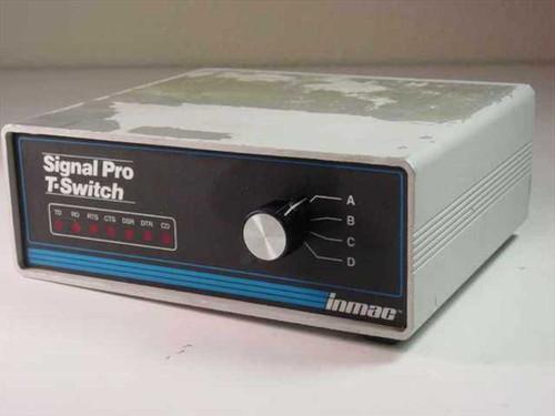 Inmac 1873  Signal Pro T-Switch Box DB25 25-Pin 4 Device