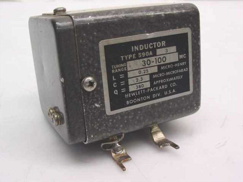 HP Type 590A  Inductor