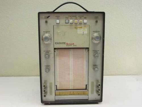 Clevite Brush Instruments Mark 220  Chart Recorder - For parts or repair value