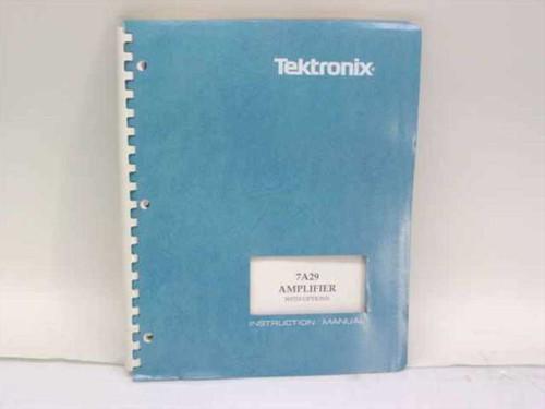 Tektronix 070-2320-00  7A29 Amplifier w/Options Instruction Manual