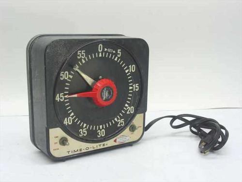 Time-O-Lite EZC-73  Interval Timer Darkroom / Safelight Room Timer
