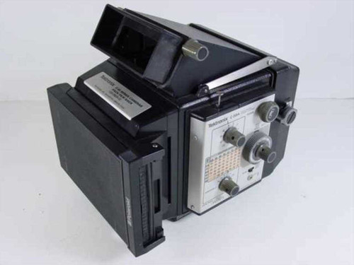 Tektronix C-59A  Oscilloscope Camera f2.8 .67MAG w.Back Film Pack