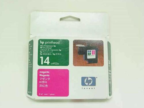HP C4922A  Printhead 14 Magenta for Printer CP1160,Copier 610