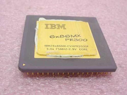 Cyrix IBM26x86MX  Cyrix 6x86MX PR300 75Mhz