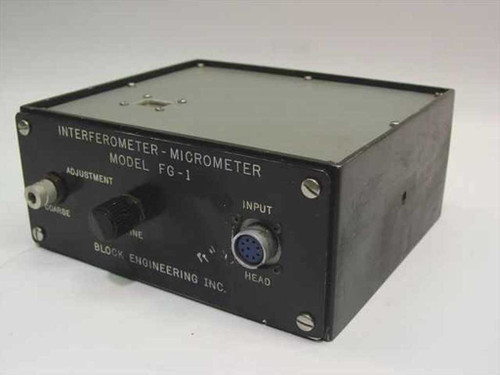 Block Engineering FG-1  Interferometer-Micrometer