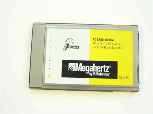 Megahertz XJ4288  28.8/14.4 Kbps Data/ Fax Modem PCMCIA