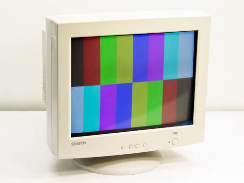 "Samtron 76DF  17"" Flat Screen SVGA Monitor CRT"