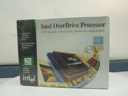 Intel DX20DP66  486DX2 OverDrive Processor 66Mhz - Retai