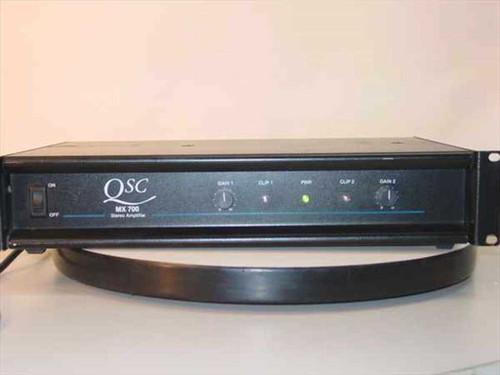 QSC MX 700  350 Watt 2U Rackmount Stereo Power Amplifier
