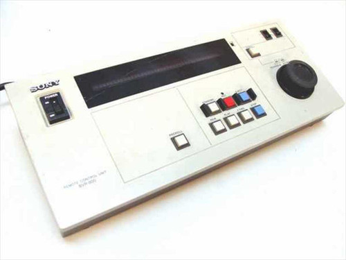 "Sony BVR-800  Remote Control Unit for 3/4"" U-Matic Tape Deck"
