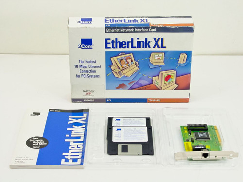3COM 3C900-TPO  PCI Etherlink card 10BASE-T RJ-45