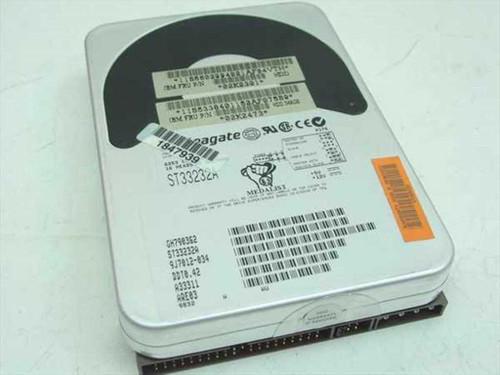 """Seagate 02K2473  3.2GB 3.5"""" IDE Hard Drive -Seagate ST33232A"""