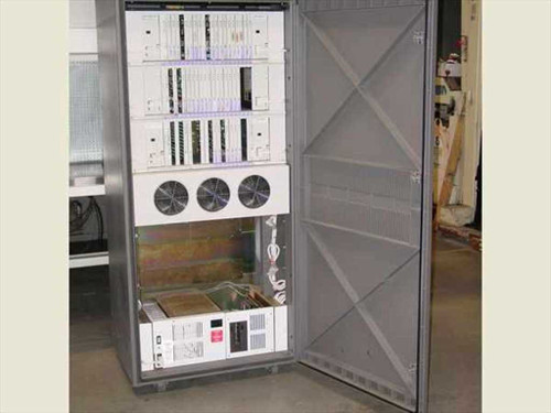AT&T System 75  Telephone Cabinet w/ cards (Cabinet Scrapped)