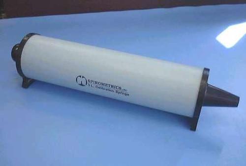 Spirometrics Inc. 3 Liter Calibration  Spirometer Syringe for Calibration 3 L.