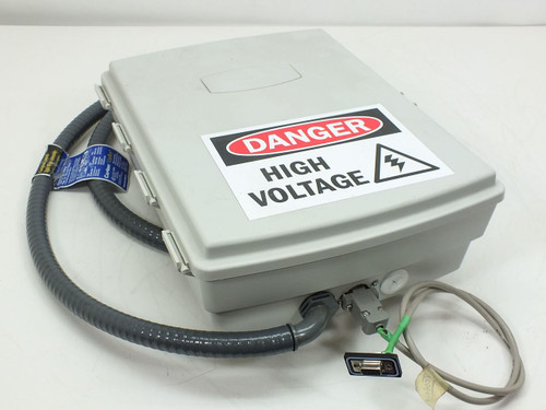 Plastic 9099  High voltage control box