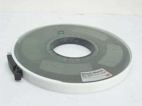 """3M 6250 CPI Extra Length 1/2"""" 9-Track Black Watch (No. 703)"""