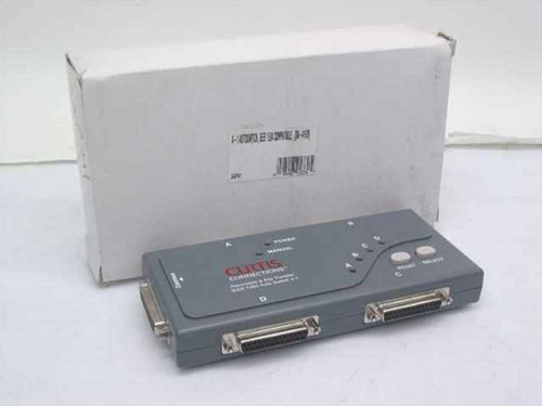 Curtis Communications Auto Switch 4-1 IEEE 1284 Reversible & File Transf