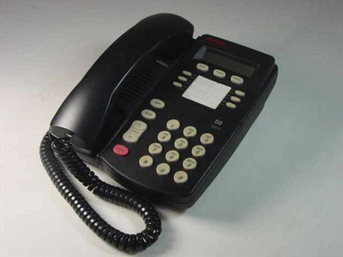 Avaya 4406Dplus Black Office Phone 4406A01A-003 with Wall Mount
