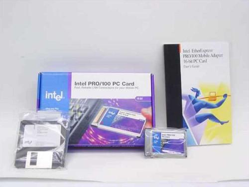 Intel EtherExpress PRO/100 Mobile Adapter 16-bit PC Card (670666-003)