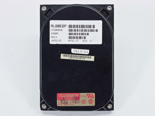 """Conner 85MB 3.5"""" IDE Hard Drive (CP30084E)"""