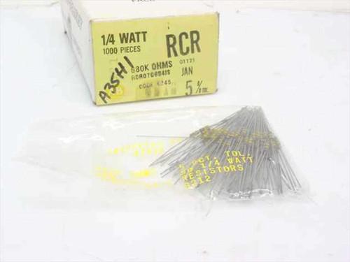 Allen-Bradley Composite Resistors - 700 pieces in box (1/4 Watt)