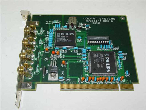 Volant Systems PCI Video Capture Card / Frame Grabber (XV2530/4)