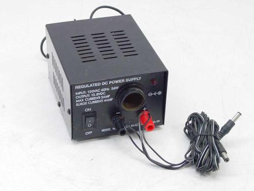 Generic Regulated 12VDC Cigarette Lighter Power Supply (PHC-412J)