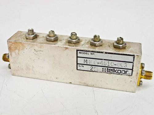 Telkoor HM06-4510-003 RF Microwave Filter - AS IS