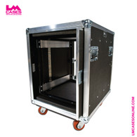 12RU Pocket Door Amp Rack