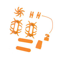 PSE Colored Rubber Kit - Orange