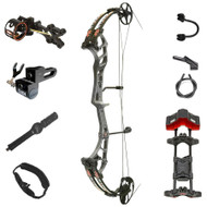 PSE Stinger Extreme Compound Bow - Charcoal w/ AM Package