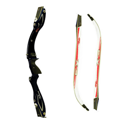 PSE X3 Carbon Riser and Limbs - Black - Archery Mall