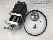 Dual Mandrel Motor for 2X-34 or 4X-34