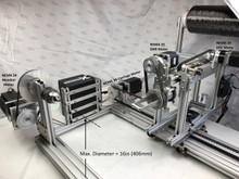 4-Axis 4X-34 with 16in (400mm) Mandrel Upgrade Kit