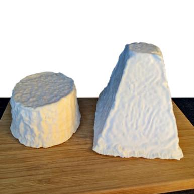 Crosta Fiorita Piramide 350 g - Formaggio di capra